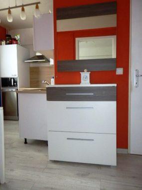 Pohľad chodba kuchyňa